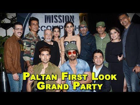 Paltan First Look Grand Party | Arjun Rampal, Sonu Sood, Harshvardhan, Gurmeet And Many