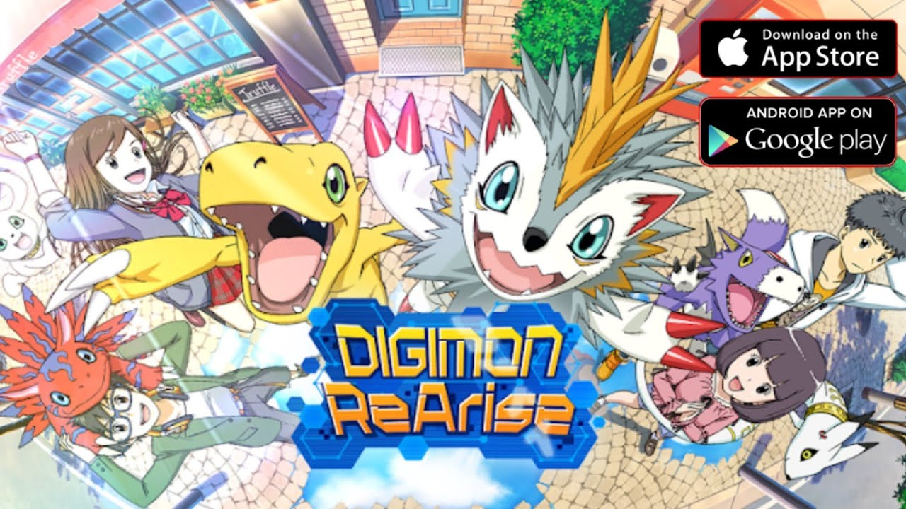 DIGIMON REARISE – NOVO GAME MOBILE 3D – DOWNLOAD APK + GAMEPLAY  #Smartphone #Android