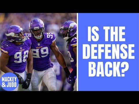 Is Minnesota Vikings defense back, baby?!?!?!