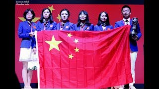 China wins the gold medal in the women's section of Batumi Olympiad 2018