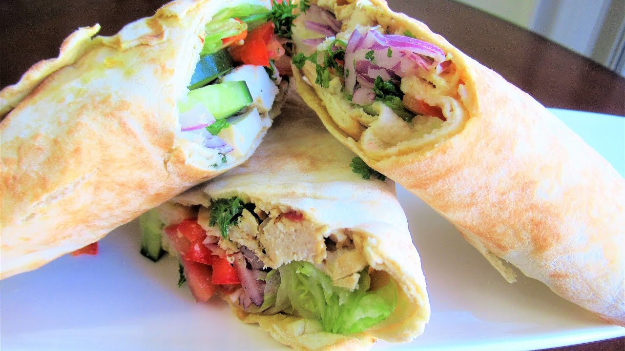 What to wrap in pita bread 58