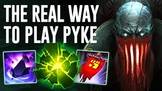 MAKING PYKE TANKY !  THIS IS GOING TO BE HIS META BUILD TRUST ME ! [ TANK PYKE SUPPORT GAMEPLAY ]