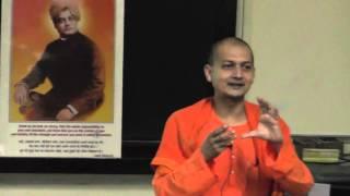 Swami Sarvapriyananda at IITK: Happiness - Vedanta and Positive Psychology