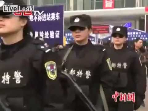 World's first all female SWAT team