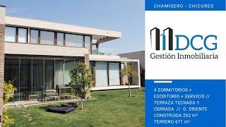 Venta Casa ubicada en Chamisero, Chicureo. Condominio Parque Chamisero.