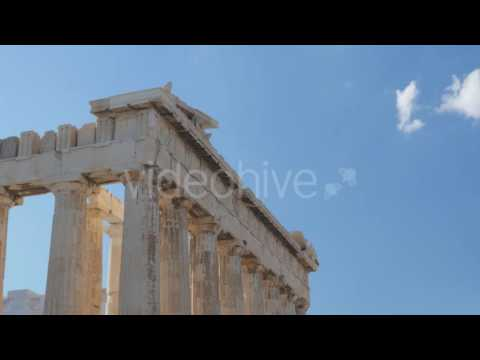 Travel View of Acropolis in Athens, Greece 5 - Stock Footage | VideoHive 14367436