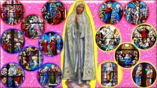 Les 15 mystères du Rosaire sur l