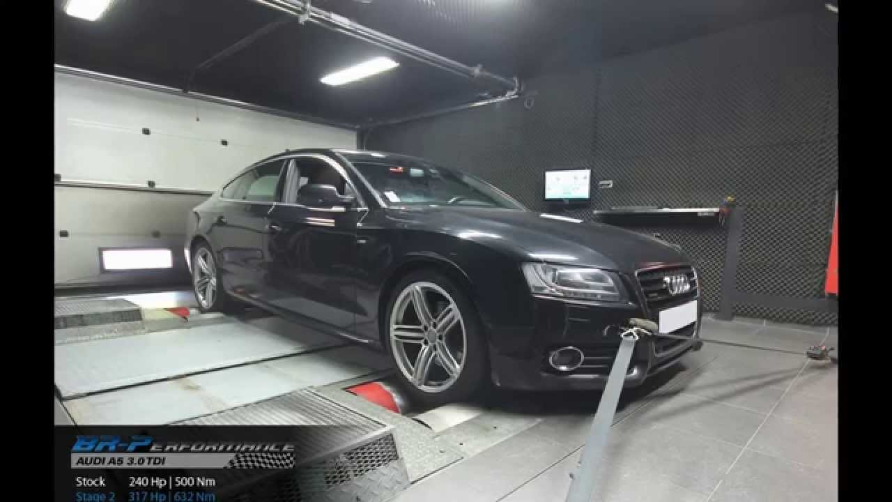 reprogrammation moteur audi a5 3 0 tdi cr 240hp 316hp stage 2 par br performance youtube. Black Bedroom Furniture Sets. Home Design Ideas