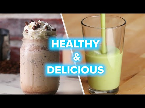 7 Healthy Smoothie Recipes For The Week • Tasty