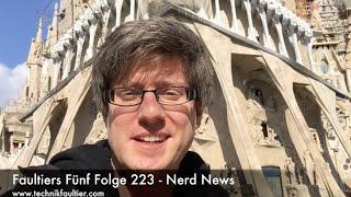 Faultiers Fünf Folge 223 - Nerd News