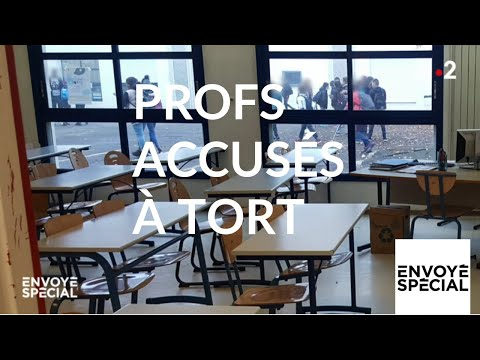 Envoyé spécial. Profs accusés à tort - 23 mai 2019 (France 2)