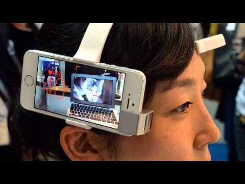 Mobile smart camera imaging receive orders directly from the user 's brain