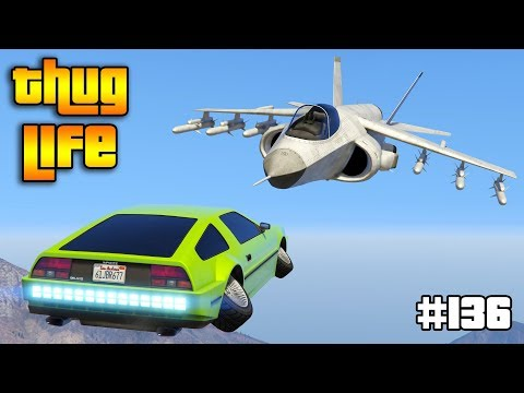GTA 5 ONLINE : THUG LIFE AND FUNNY MOMENTS (WINS, STUNTS AND FAILS #136)