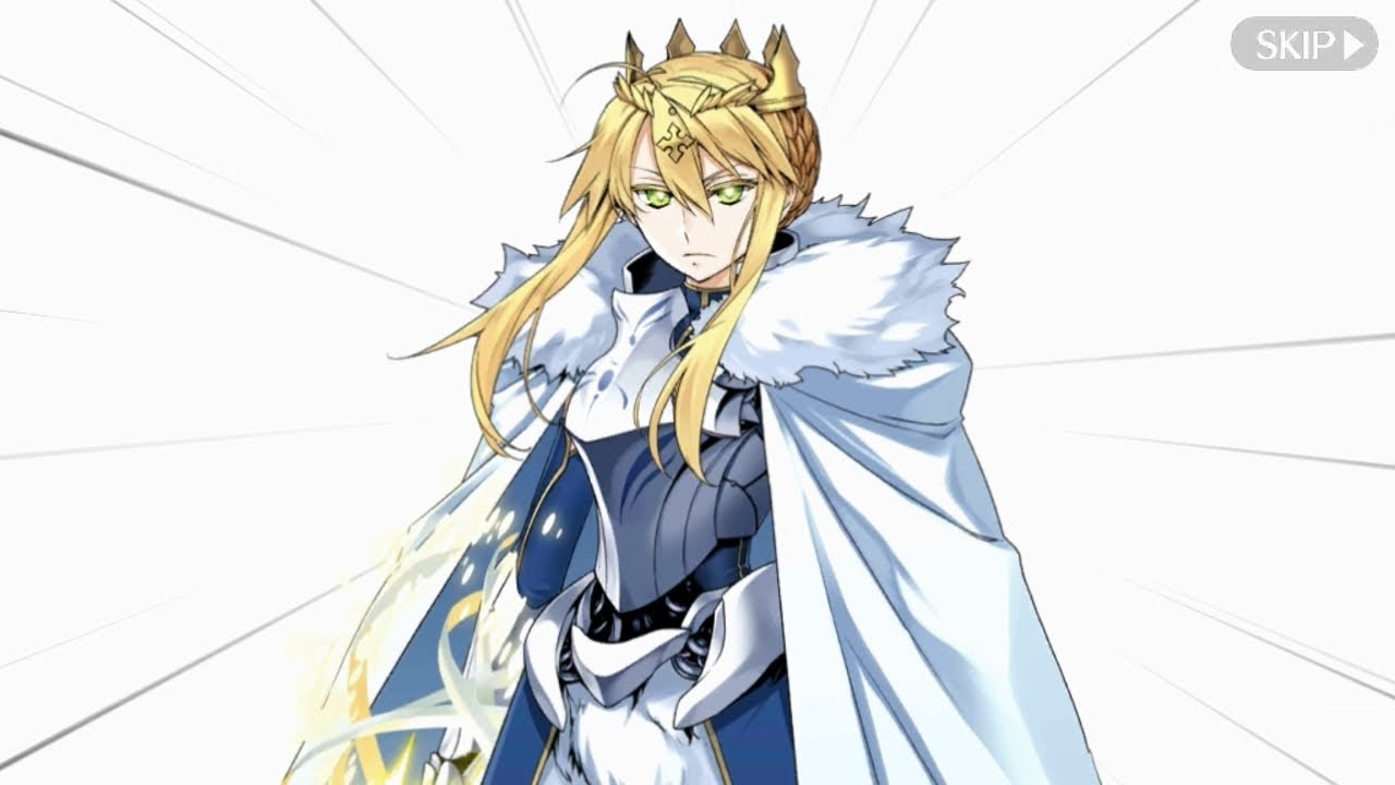 Fate/Grand Order (Eng) - Camelot Chapter - Goddess Rhongomyniad (The Lion King) - YouTube