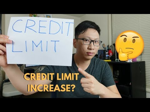 Why You Shouldnt Ask For Credit Limit Increase