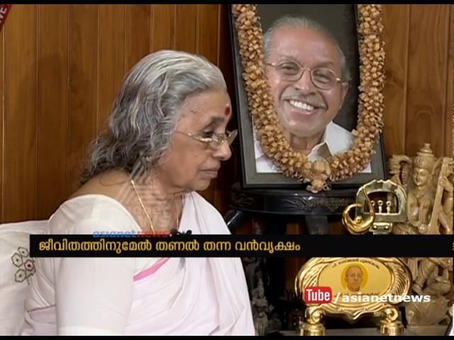 Sugathakumari shares her memories about O. N. V. Kurup