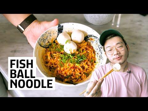 RESEP FISH BALL NOODLE SINGAPORE - KAGET SENDIRI HASILNYA!