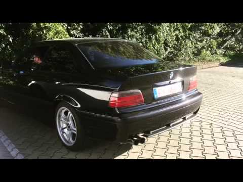 bmw e36 325i supersport sportauspuff sound exhaust youtube. Black Bedroom Furniture Sets. Home Design Ideas