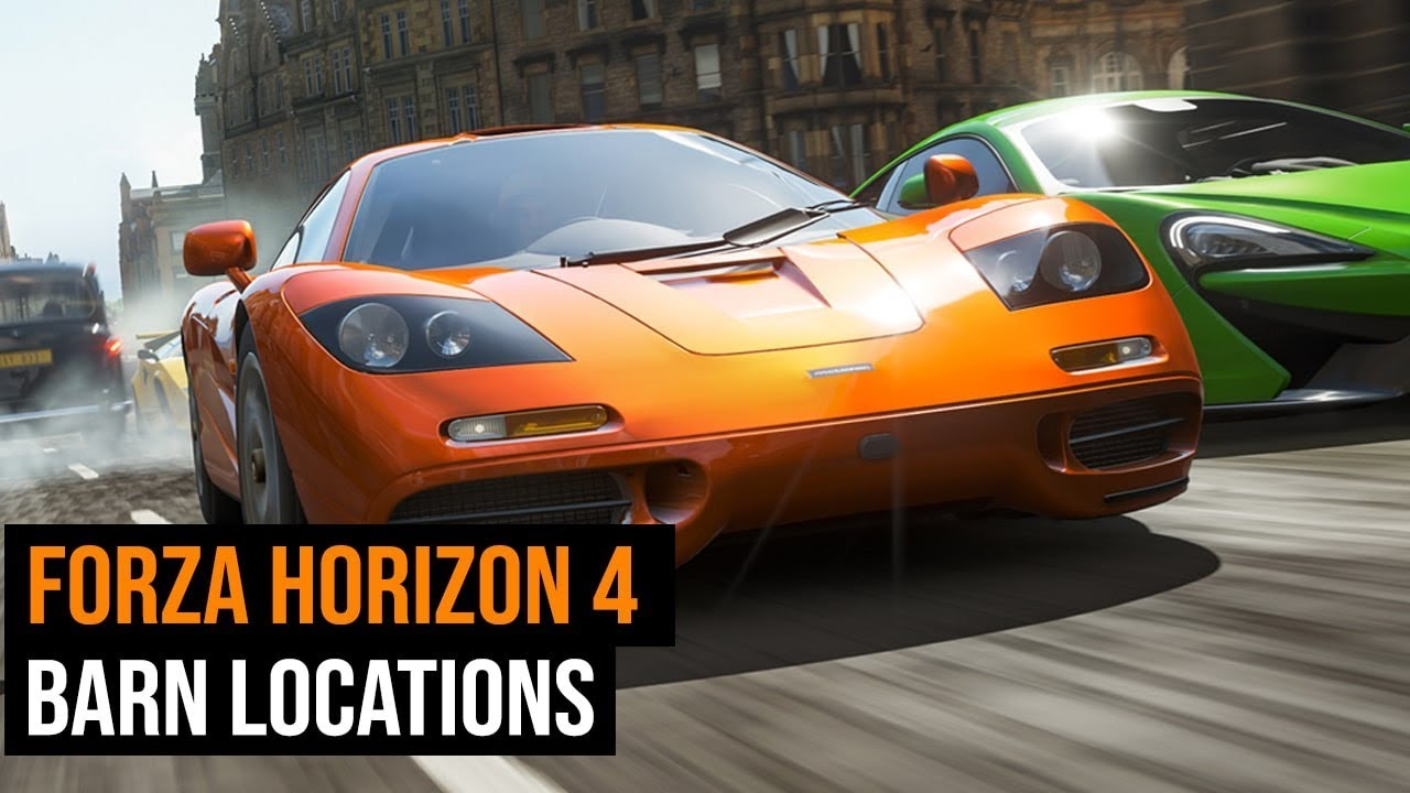 Forza Horizon 4 Barn Locations Guide