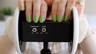ASMR Fast Tapping &amp Scratching Your Ears  3Dio Binaural (No Talking)
