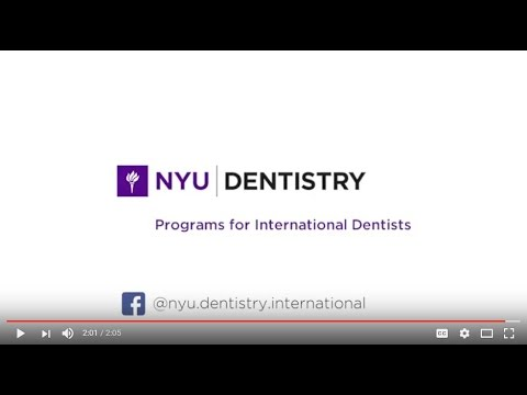 NYU Dentistry International Programs