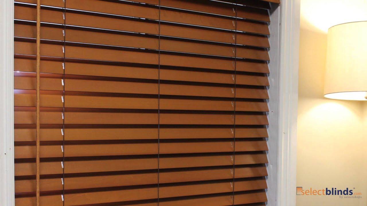 cordless wood blinds youtube. Black Bedroom Furniture Sets. Home Design Ideas