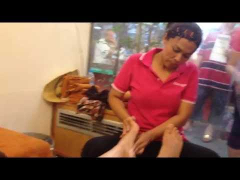 Bangkok - Body massage nel mercato di Chatuchak (27/7/2014)