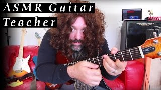 ASMR Guitar Teacher - Soft Spoken, Whispers, Clicking, Relaxing Lesson