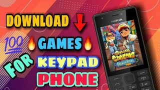 Download Games For Keypad Phone