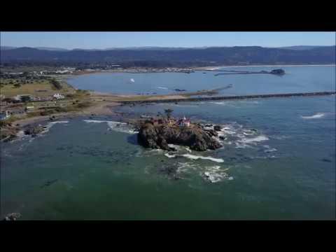 Harbor Oregon by Drone