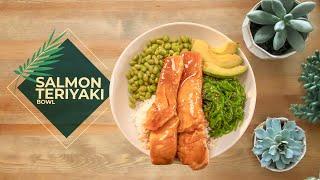 Cooking with Vick! Salmon Teriyaki Bowl   Episode 7