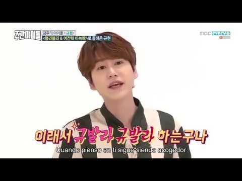 Weekly Idol Ep 278 Kyuhyun (Sub español)Parte 1