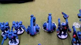 Warhammer 40k Battle Report 15 Tau vs Dark Eldar 1500pts Astronomicon Mission