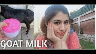 Benefits of using GOAT MILK on face || Homemade remedy || INSTANT results on skin ????