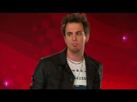 Mikael Adrielsson - Surfin bird - Idol Sverige (TV4)