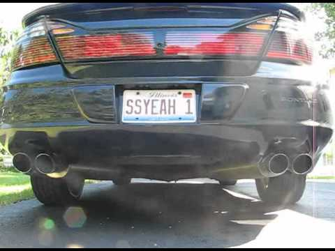 2000 Pontiac Bonneville Ssei Supercharged With Cam And