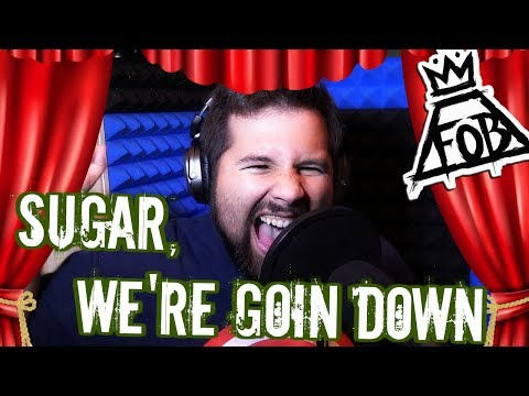 Fall Out Boy  Sugar, Were Goin Down Vocal   Caleb Hyles