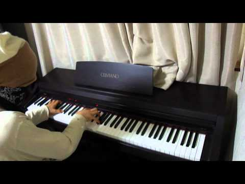 the last song piano cover / x japan