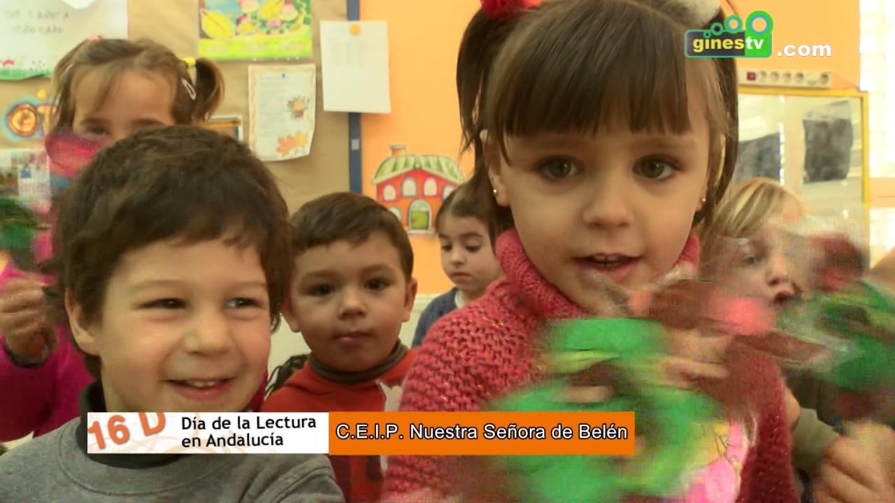 El Colegio Nuestra Señora de Belén de Gines celebra el Día de la Lectura en Andalucía