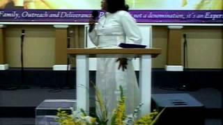 """Talk Like You're Anointed"" Pastor Tamara Bennett"
