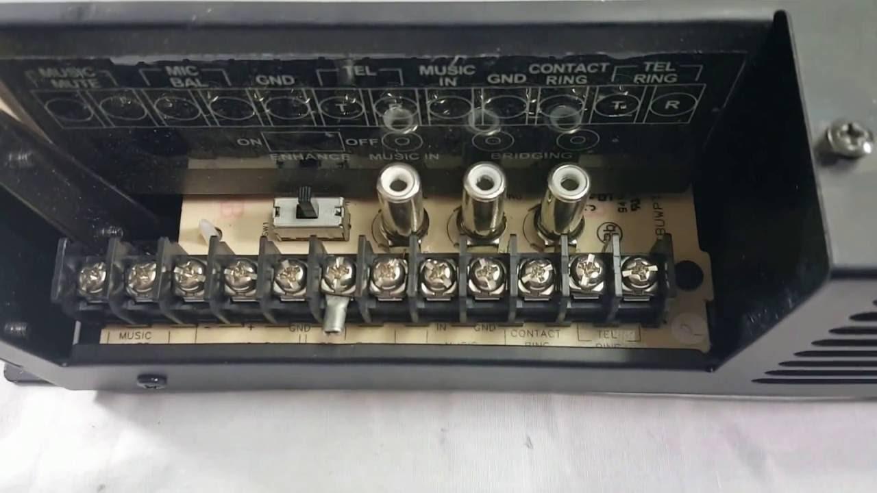 Bogen Tpu 100b Tpu 100b 100 Watt Amplifier A Closer Look