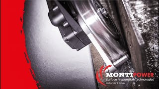 Rust Removal and Fillet Weld Cleaning | MONTI Bristle Blaster