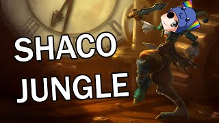 League of Legends - Shaco Jungle - Full Game With Zander