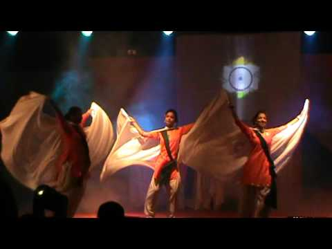 A fusion dance  on the eve of Independance day 2015 at Hailakandi