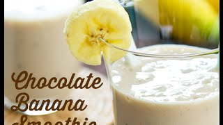 Muscle Building Breakfast Protein Smoothie: Chocolate, Banana & Oats | Darren Kennedy