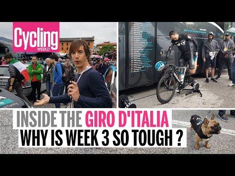 Why is week three so damn tough? | Inside the Giro d'Italia | Cycling Weekly