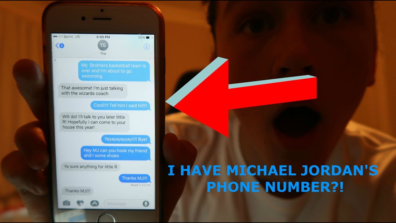 I have michael jordan 39 s phone number prank youtube for Furniture 7 phone number
