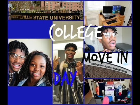Dorm Move In Day At Fayetteville State University