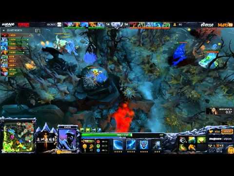 Secret vs BG - DAC 2015 - LB - Finals - G1