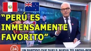 TV Chilena: Un Partido que duele, Perú vs Nueva Zelanda